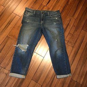 Women's boyfriend cropped jean 👖